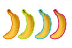 Banana. Sweet yellow banan background, enhance your work Royalty Free Stock Image