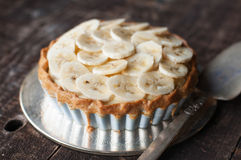 Banana Tart Royalty Free Stock Photo