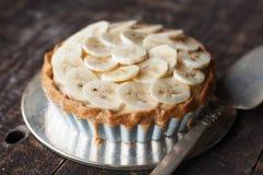 Banana Tart Royalty Free Stock Photo