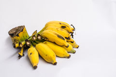 Banana. Thailand bananas taste sweet and delicious. Invites to taste at Thailand Stock Photos