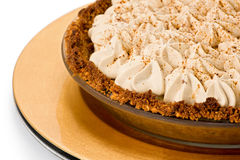 Banana Toffee Pie Royalty Free Stock Photo