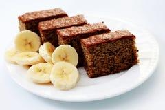 banana tort Zdjęcie Royalty Free