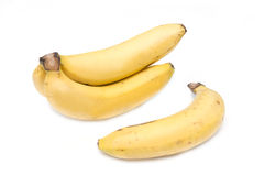 Banana tropical fruits for health Stock Photo