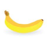 Banana vector art color illustration. Banana art vector illustration on white background royalty free illustration