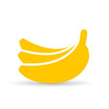 Banana vector icon Stock Images
