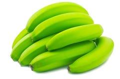 Banana verde Immagini Stock