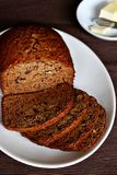 Banana Walnut Bread Royalty Free Stock Photos