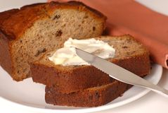 Banana walnut bread Stock Image