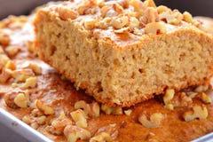 Banana walnut cake Stock Images