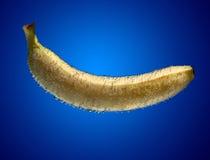 Banana into water Stock Photo