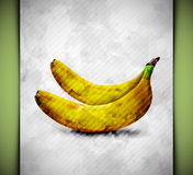 Banana watercolor Royalty Free Stock Photo