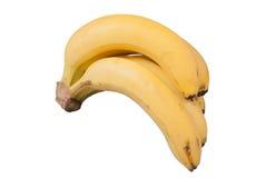 Banana. On a white background Stock Photos