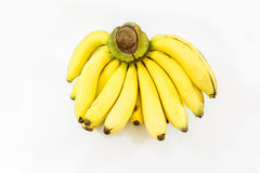 Banana on white background Stock Photography