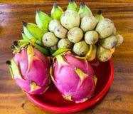 Banana, Wollongong, Dragon. Fruit Royalty Free Stock Photography