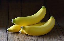 Banana on wood Royalty Free Stock Photo