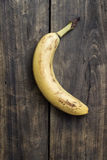 Banana on wooden background Royalty Free Stock Image