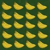 Banana wzór Zdjęcia Royalty Free