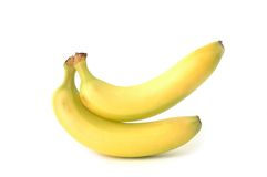Banana yellow Stock Image