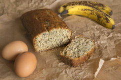 Bananabread Stockfotos