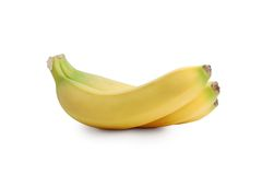 Bananas. On a white background Stock Photography