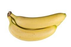Bananas. Isolated bananas on white background Stock Photos