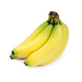 Bananas. Bunch of bananas isolated on white Royalty Free Stock Photos