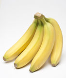 Bananas. On white background Stock Photo