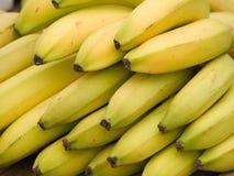 Bananas. Yellow bananas background Royalty Free Stock Image