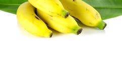 Bananas. On a white background Royalty Free Stock Photos