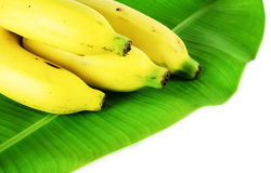 Bananas. On a white background Stock Images