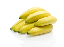 Bananas. Fruit on white background Royalty Free Stock Images