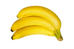 Bananas. Bunch of bananas isolated on white Royalty Free Stock Photo