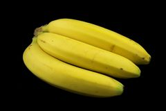 Bananas. A bunch of ripe bananas Stock Images