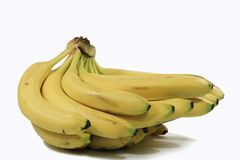 Bananas amarelas Foto de Stock Royalty Free