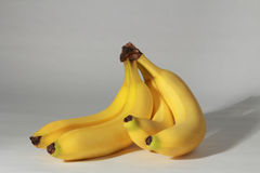 Bananas amarelas Imagens de Stock