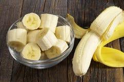 Bananas in bowl Stock Photography