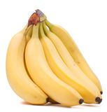 Bananas bunch isolated on white background cutout Stock Photo
