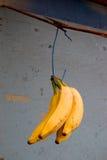 Bananas, carrinho de fruta, Oahu Imagem de Stock Royalty Free