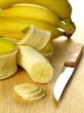Bananas, close up Stock Photography