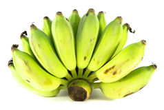 Bananas cruas Foto de Stock Royalty Free
