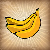 Bananas design Royalty Free Stock Image