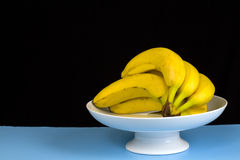 Bananas in Dish Stock Images