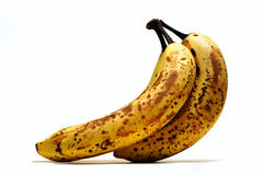 Bananas do envelhecimento Fotografia de Stock Royalty Free