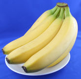 Bananas doces fotografia de stock royalty free