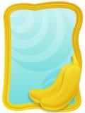 Bananas frame Stock Image