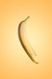 Bananas. Fresh fruits flying concept. Royalty Free Stock Photography