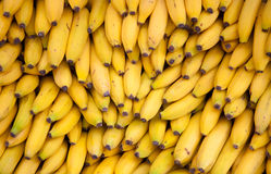 Bananas. Fresh ripe bananas background texture Royalty Free Stock Photos