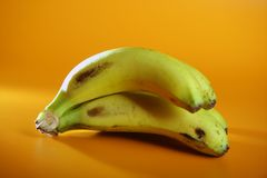 Bananas fruit cluster Royalty Free Stock Photo