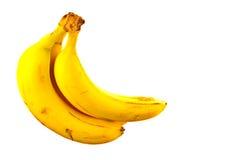 Bananas,fruit,food,organic. Bunch of bananas on white background Stock Photos