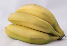 Bananas. Fruit sweet and high in sugar and carbohydrates Royalty Free Stock Photo